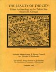 The reality of the city : urban archaeology at the Telfair site, Savannah, Georgia