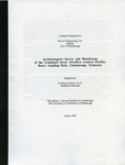 Archaeological survey and monitoring of the combined sewer overflow control facility, Ross's Landing Park, Chattanooga, Tennessee by R. Bruce Council