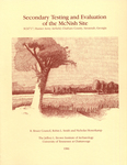 Secondary testing and evaluation of the McNish site : 9CH717, Hunter Army Airfield, Chatham County, Savannah, Georgia by R. Bruce Council, Robin L. Smith, and Nicholas Honercamp