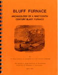 Bluff Furnace : archaeology of a nineteenth century blast furnace by R. Bruce Council, Nicholas Honercamp, and Elizabeth M. Will