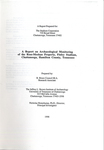 A report on archaeological monitoring of the Ross-Meehan Property, Finley Stadium, Chattanooga, Hamilton County, Tennessee by R. Bruce Council