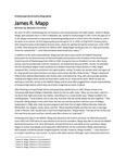 James R. Mapp biographical sketch